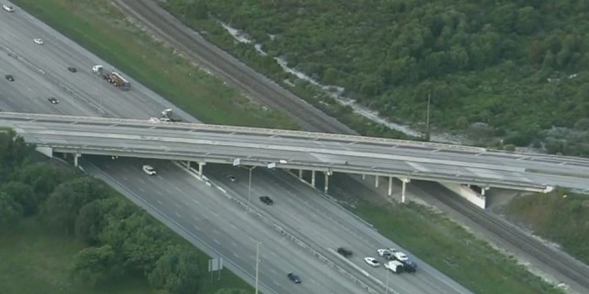 I-95 overpass at Clint Moore Road to be closed for year