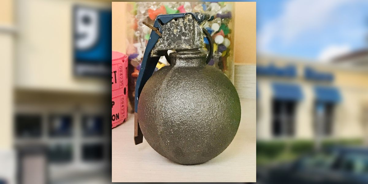 Grenade donated to Goodwill in Port St. Lucie