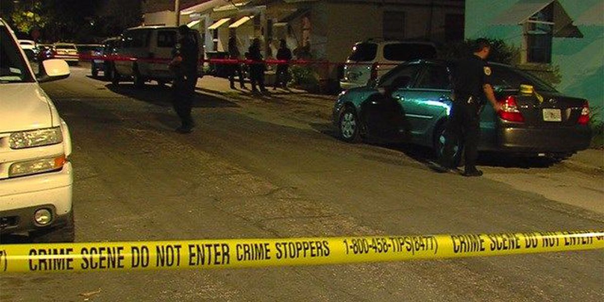 Person injured trying to escape shooting