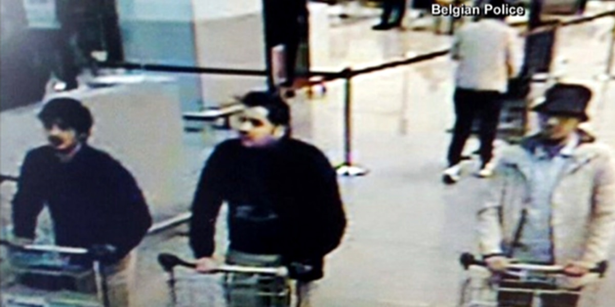 Photos of Brussels terror suspects released by police in Belgium