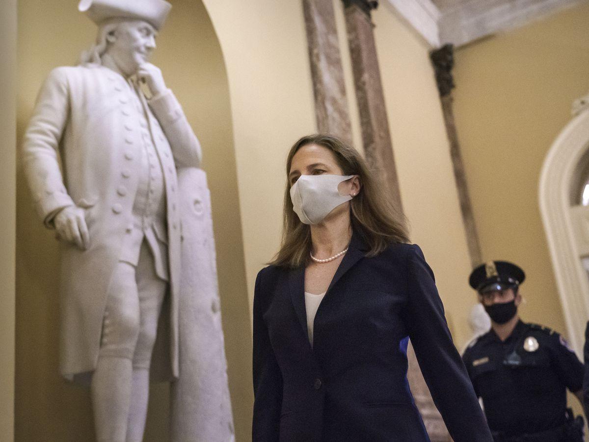 Senate GOP pushing Barrett ahead past Democrats' blockade