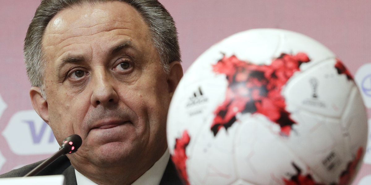 Mutko resigns as president of Russian soccer federation