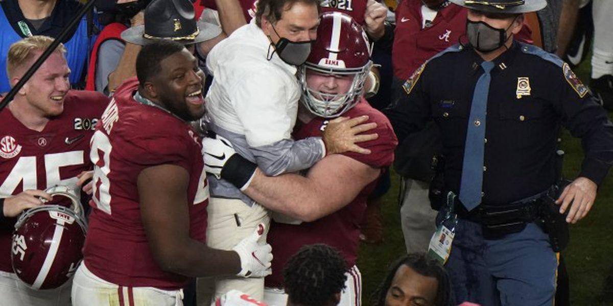 Alabama beats Ohio State to win national championship