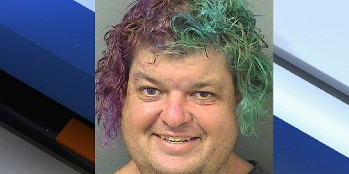 Colorful man arrested for trespassing at park