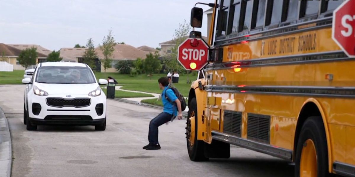St. Lucie School Public Schools has pilot program to help prevent school bus accidents