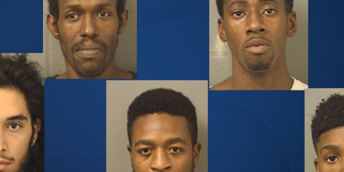 Eight people arrested after Walmart looted in Greenacres