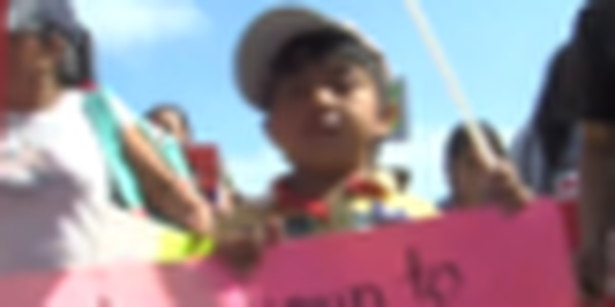 May Day demonstrations in Lake Worth
