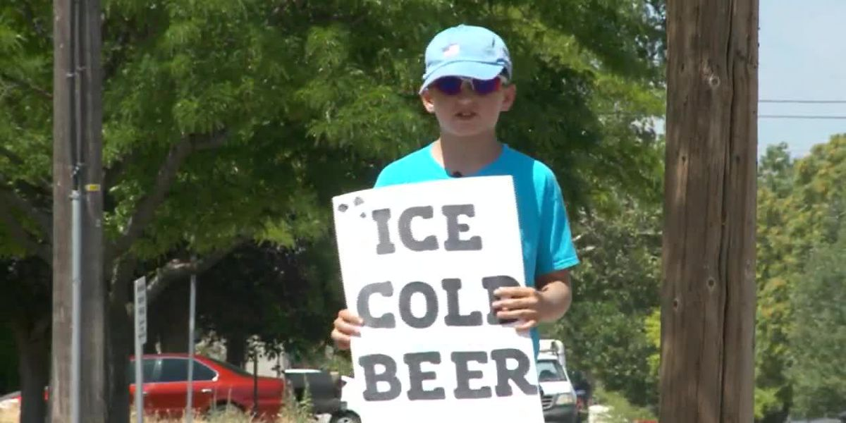 Utah boy sets up 'ice cold beer' stand, police investigate