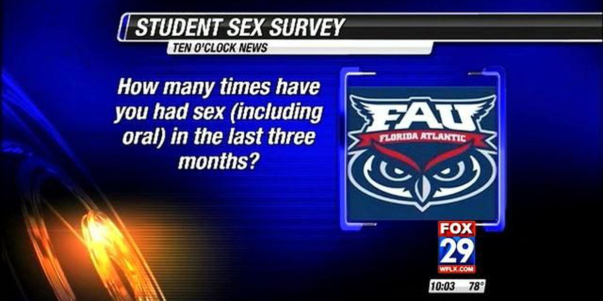 FAU students forced to answer sex survey