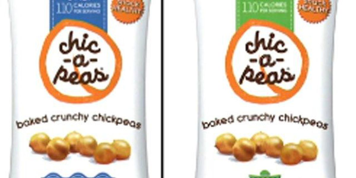 Chic-a-Peas recalls snacks for listeria concens