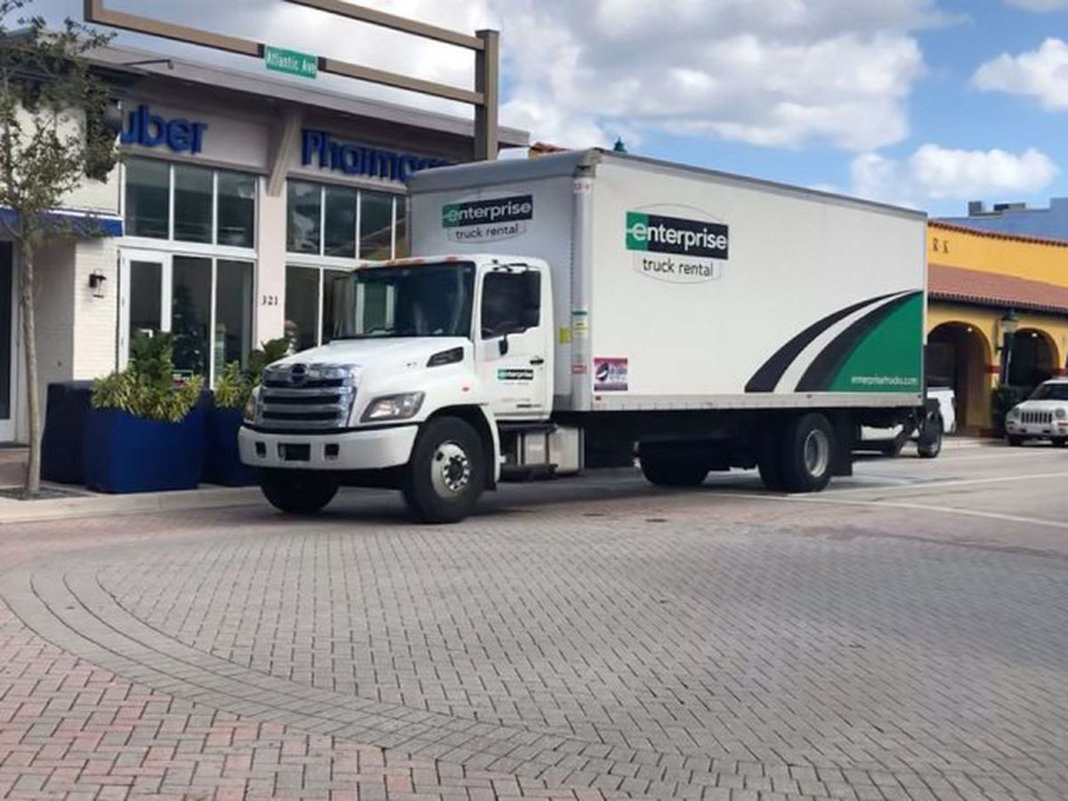 Delray seeks to curb large trucks on Atlantic Avenue