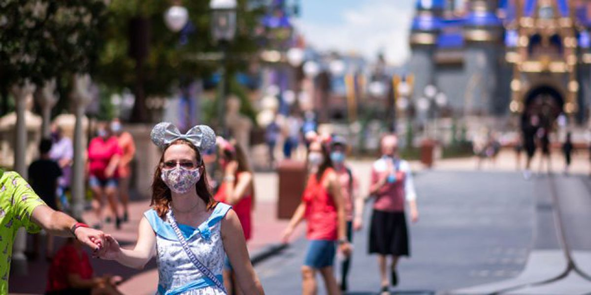 Smiles won't be hidden much longer at Disney World