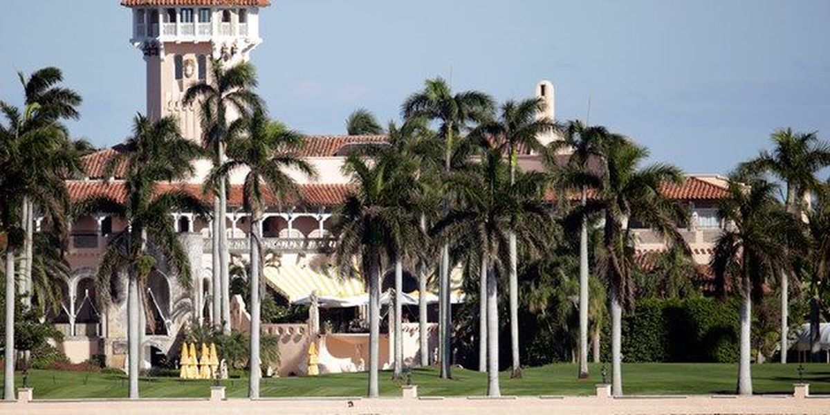 President-elect Trump back at Palm Beach home