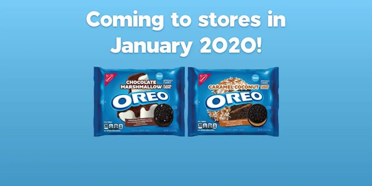 There are 2 new Oreo flavors coming next year
