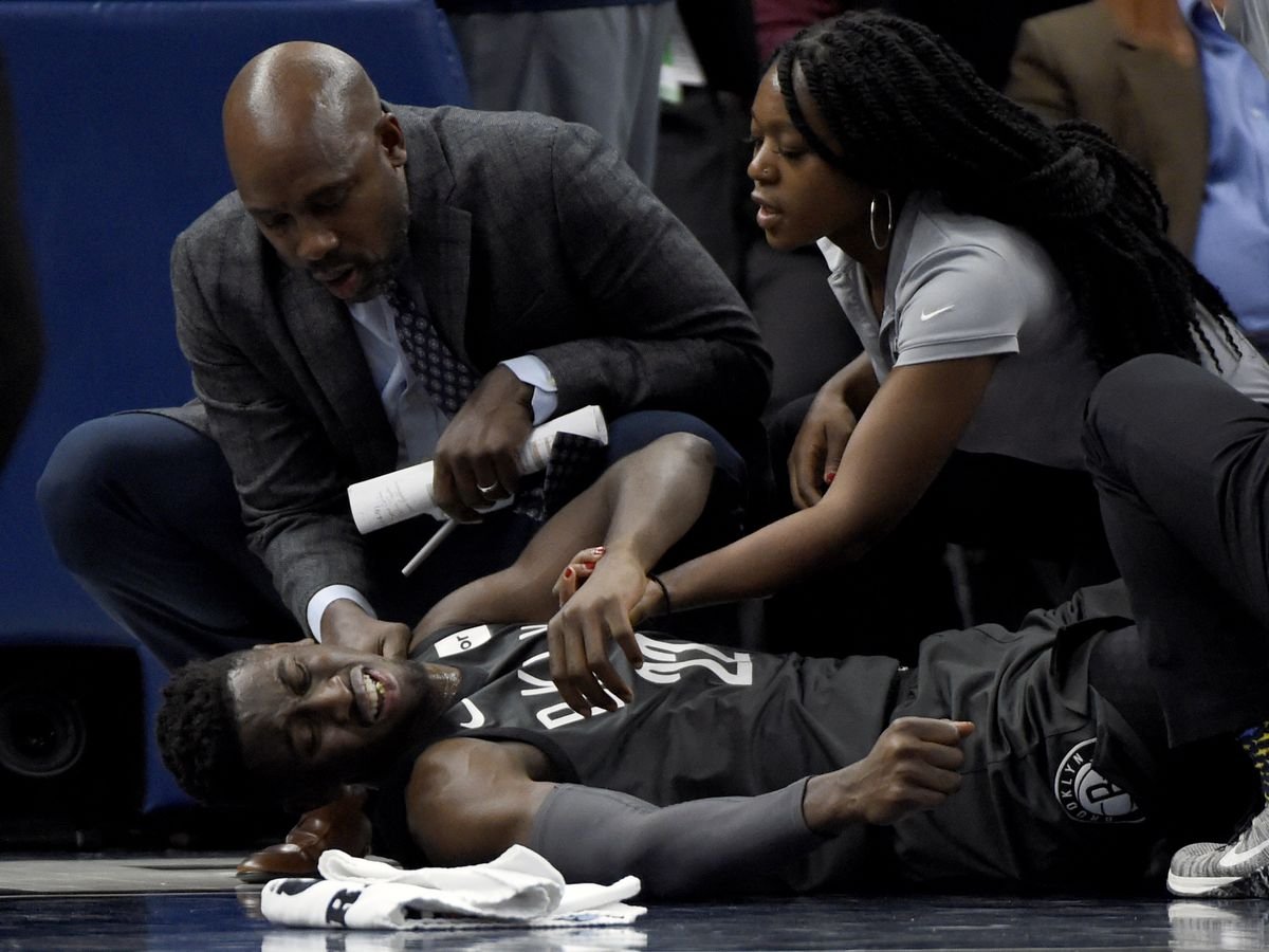 'Obviously, I'm very blessed': Nets' LeVert discusses injury