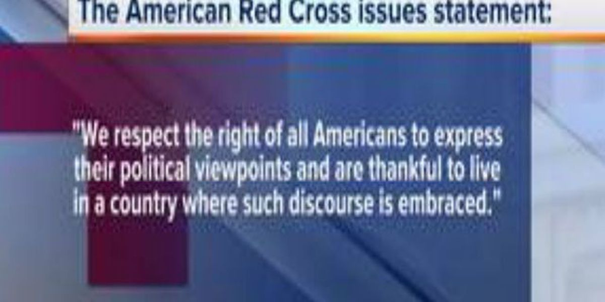 Red Cross releases statement to demonstrators
