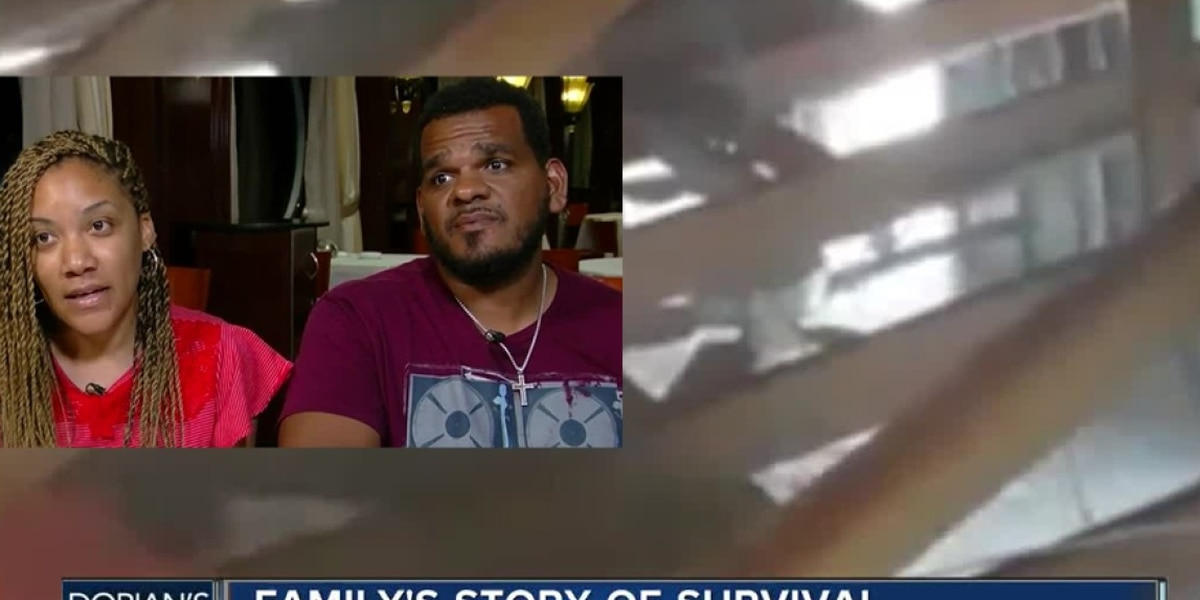 Family in the Bahamas trapped in attic for more than 30 hours during Hurricane Dorian