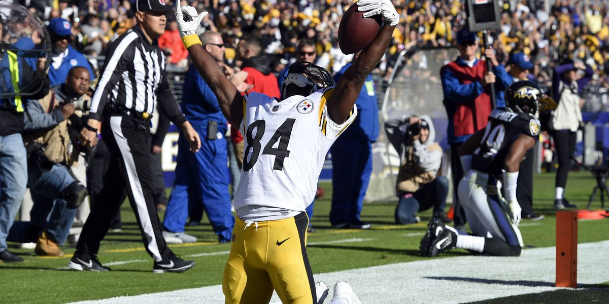 Police: Steelers Antonio Brown pulled over for going 100 mph