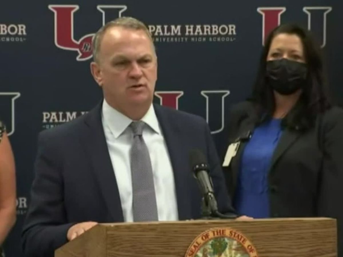 Florida education commissioner wants to eliminate mask mandates in schools