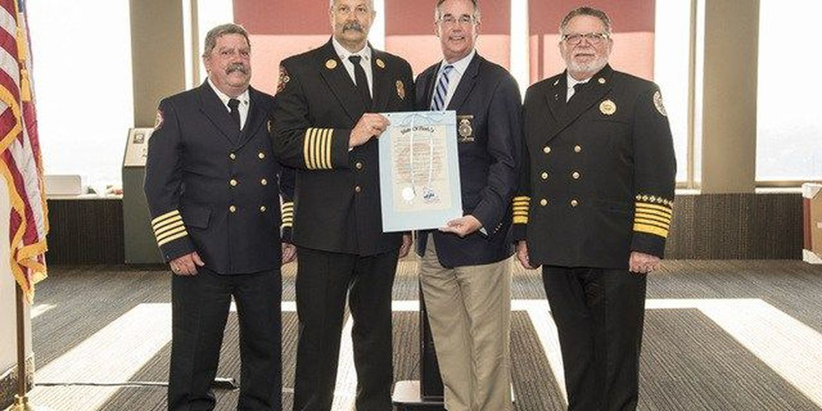 Town of Palm Beach Fire Rescue Chief awarded