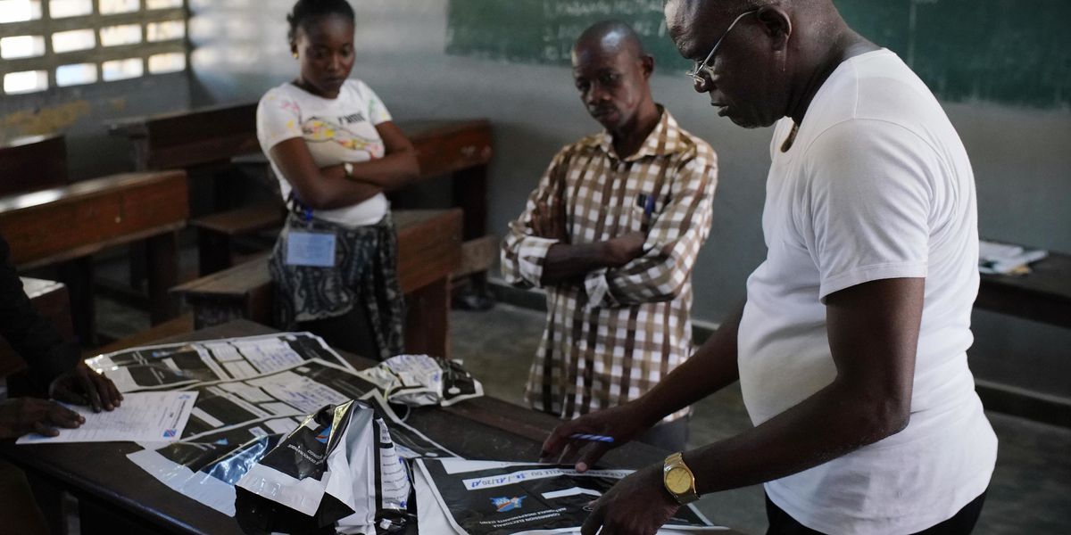 Congo cuts internet after presidential poll beset by delays