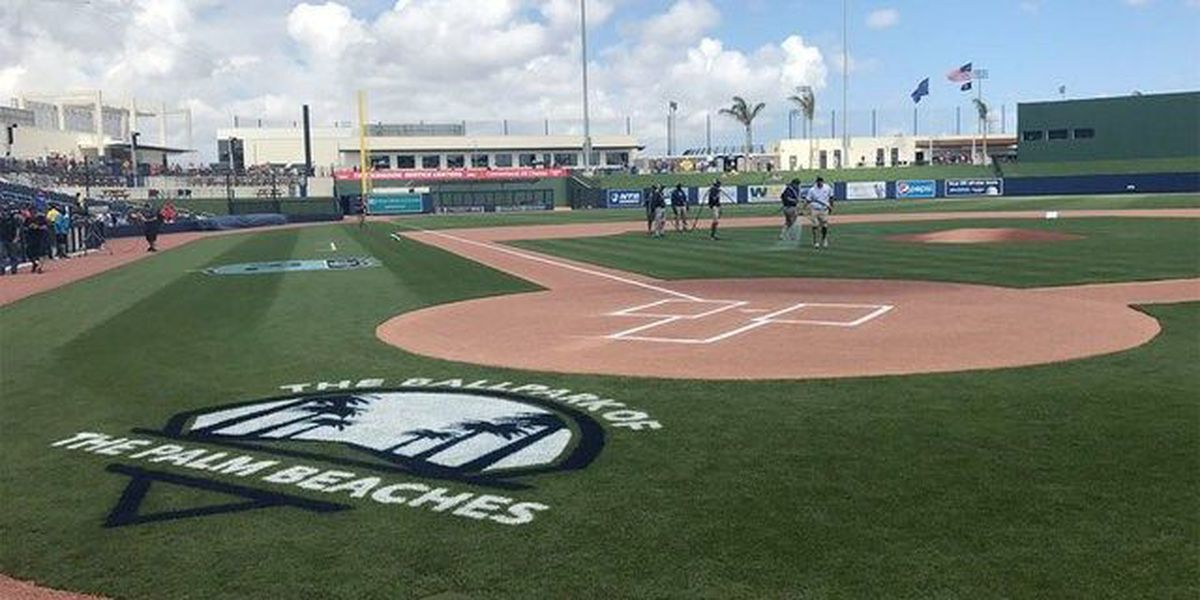 Was spring training a success in West Palm?