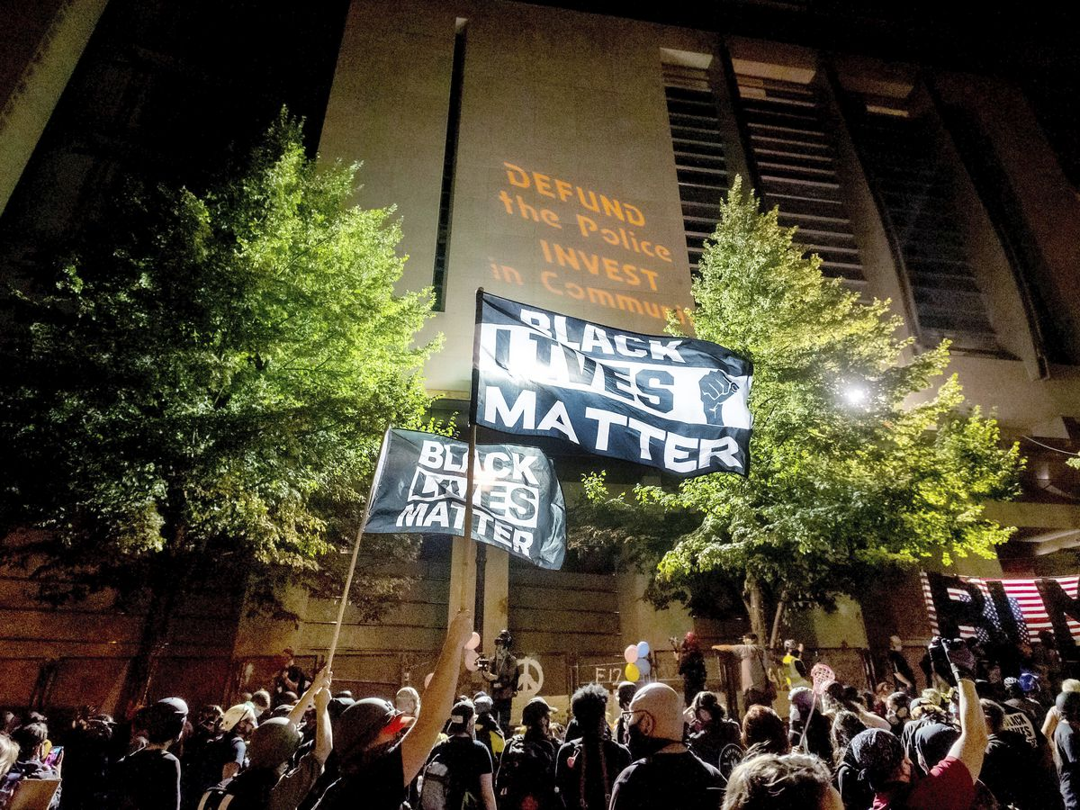 Portland protests persist as some bring flashes of violence