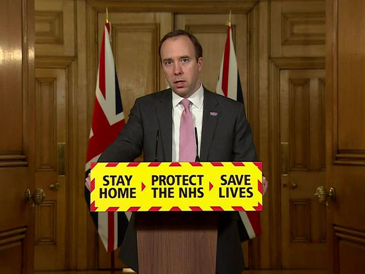 UK eyes traveler quarantine as virus toll climbs