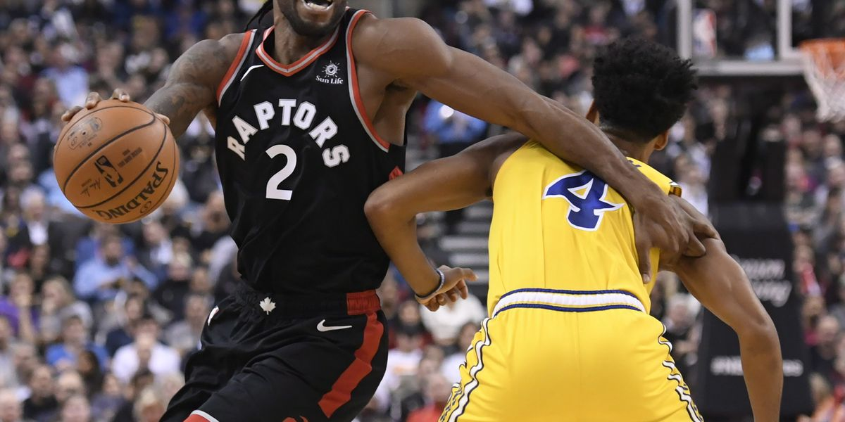 Leonard scores 37, Raptors beat Warriors 131-128 in OT
