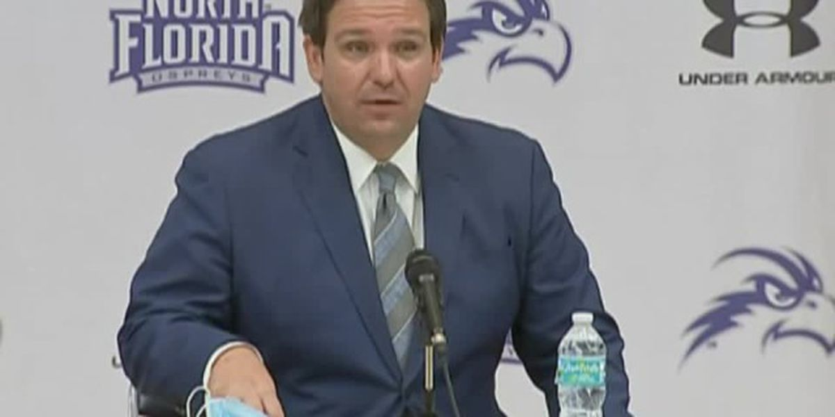 Gov. DeSantis says it's 'critical' to have sports for Florida students