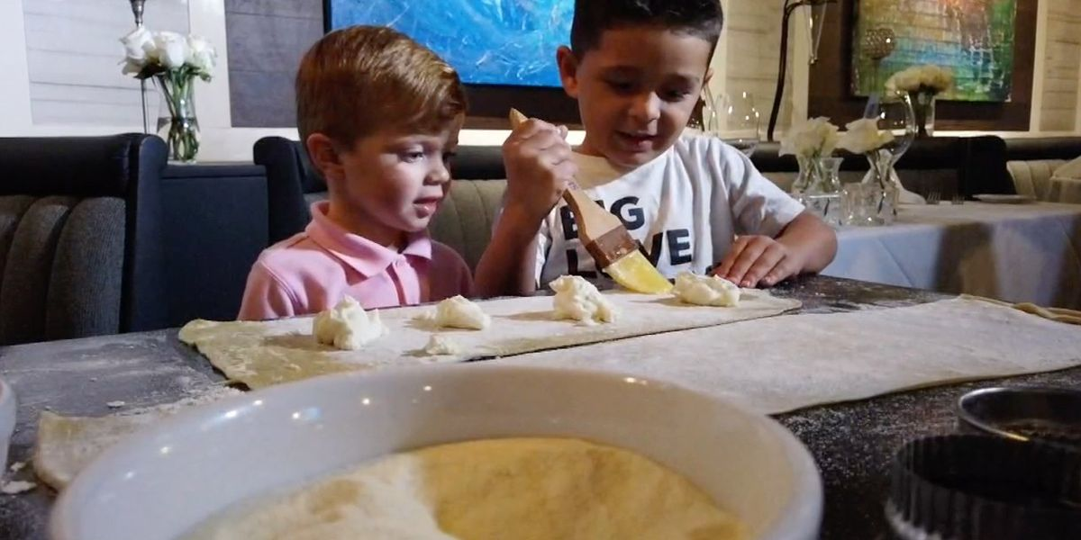 Cooking with pre-schoolers can help teach them listening skills