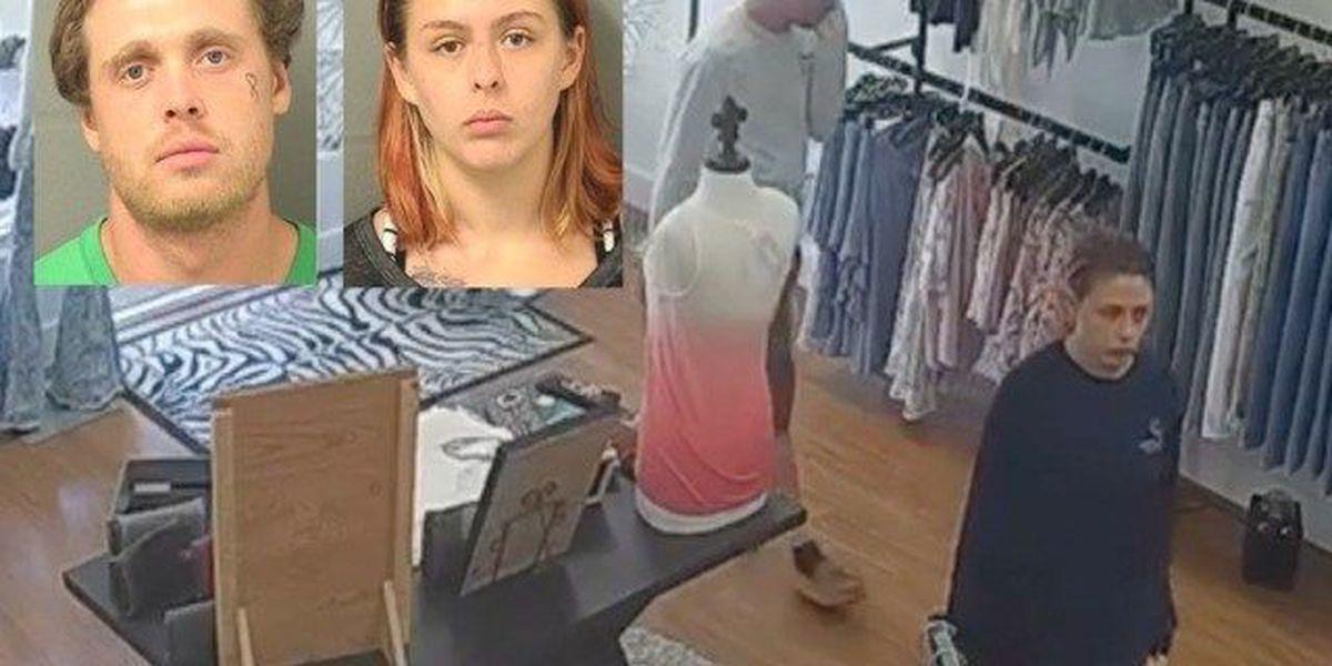 Cops: Pair suspected of robbing Jupiter boutique