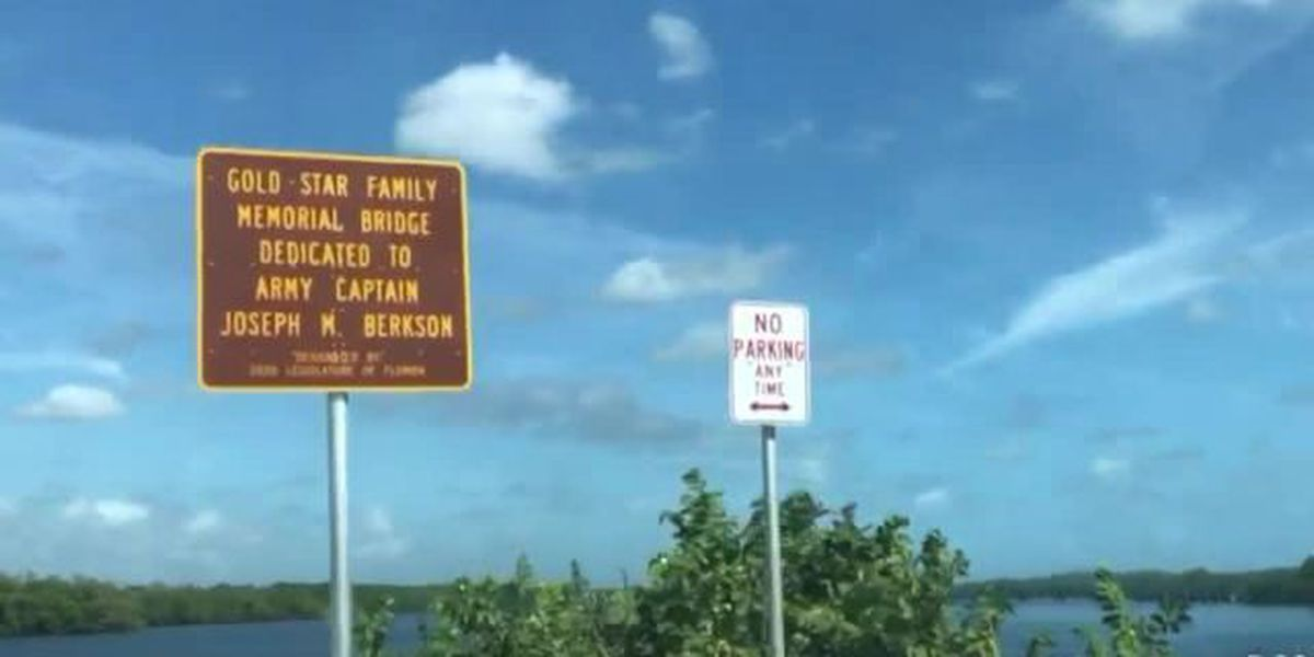 North Palm Beach bridge renamed to honor fallen soldiers and their families