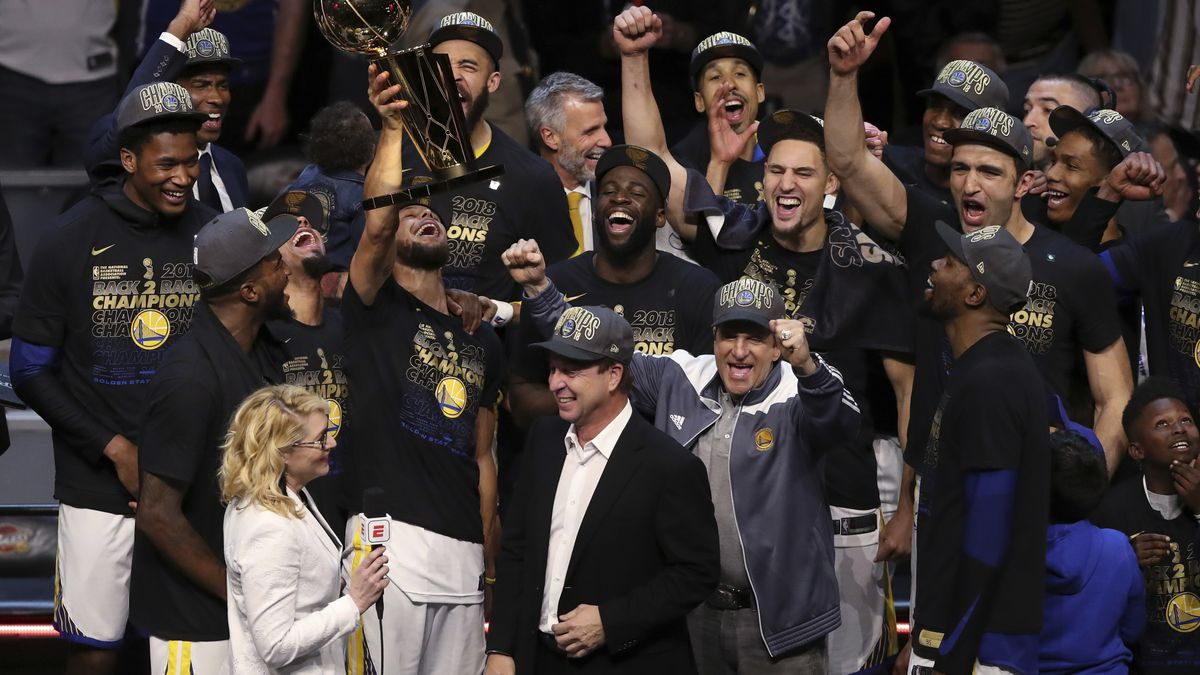 Warriors named Sports Illustrated's Sportsperson of Year