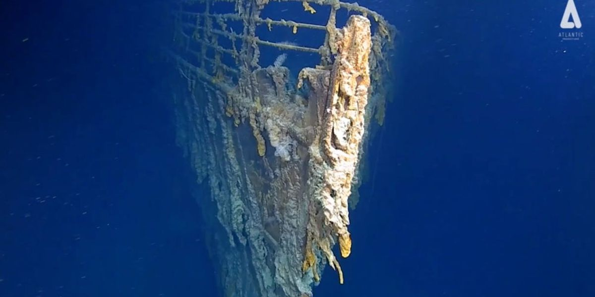 Local explorers uncover new information about the Titanic