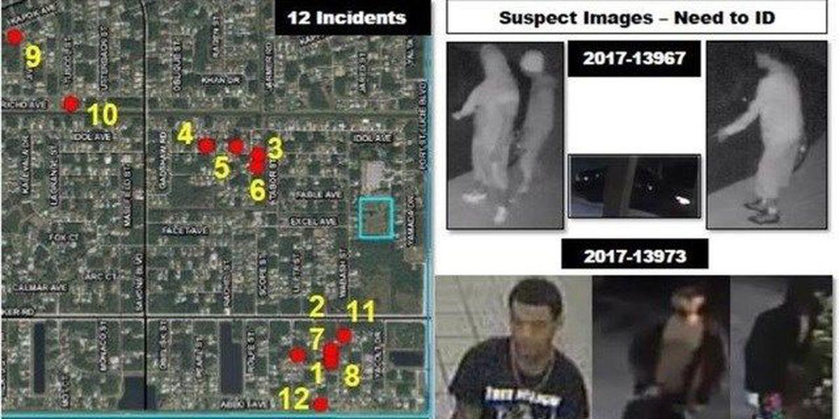 18 Cars burglarized in Port St. Lucie