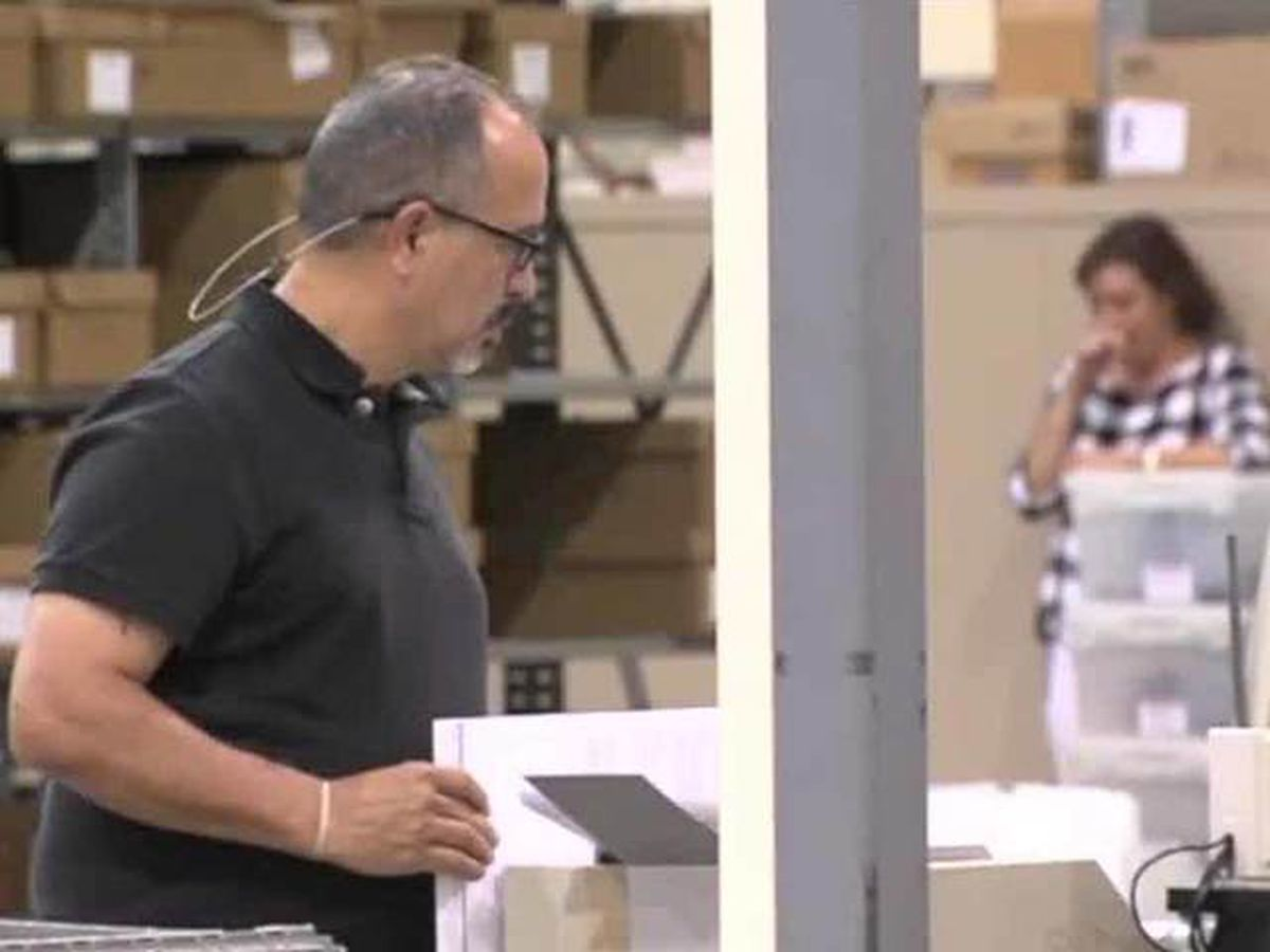 PB County begins hand recount in Senate race