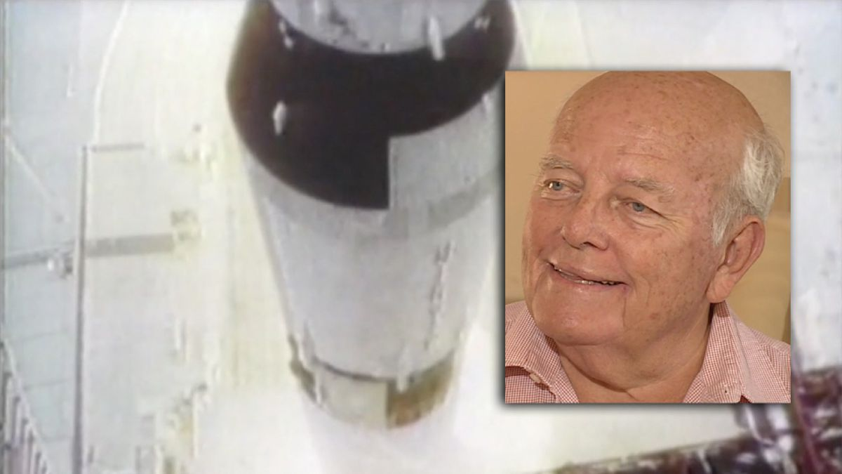 Former engineer Peter Meier remembers working on Apollo 11 mission