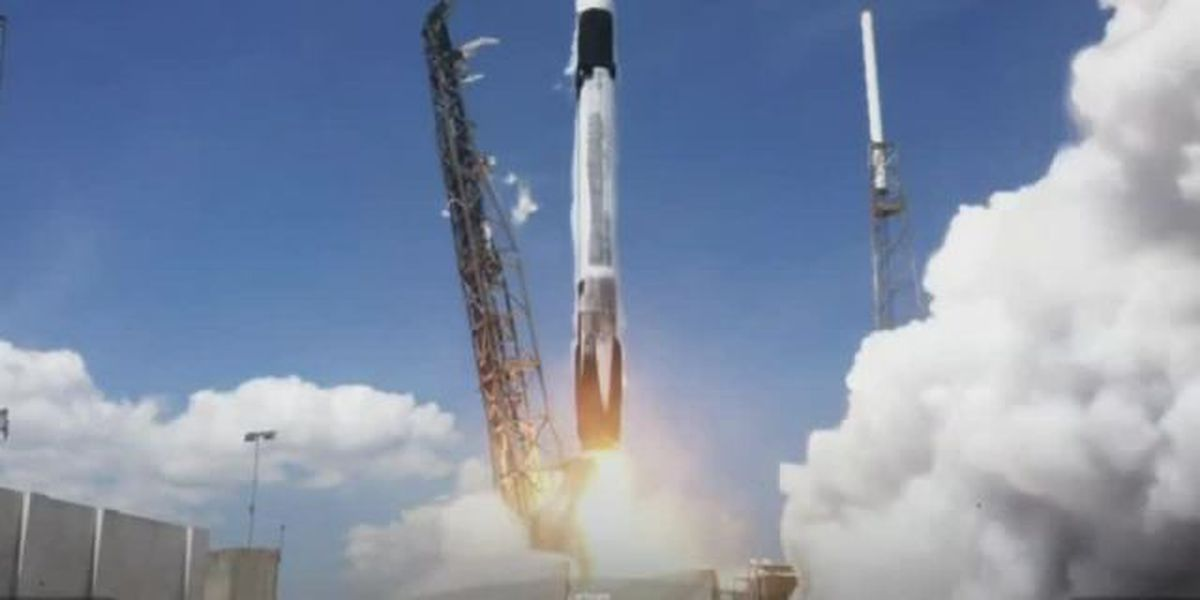 SpaceX launches Falcon 9 rocket from Cape Canaveral