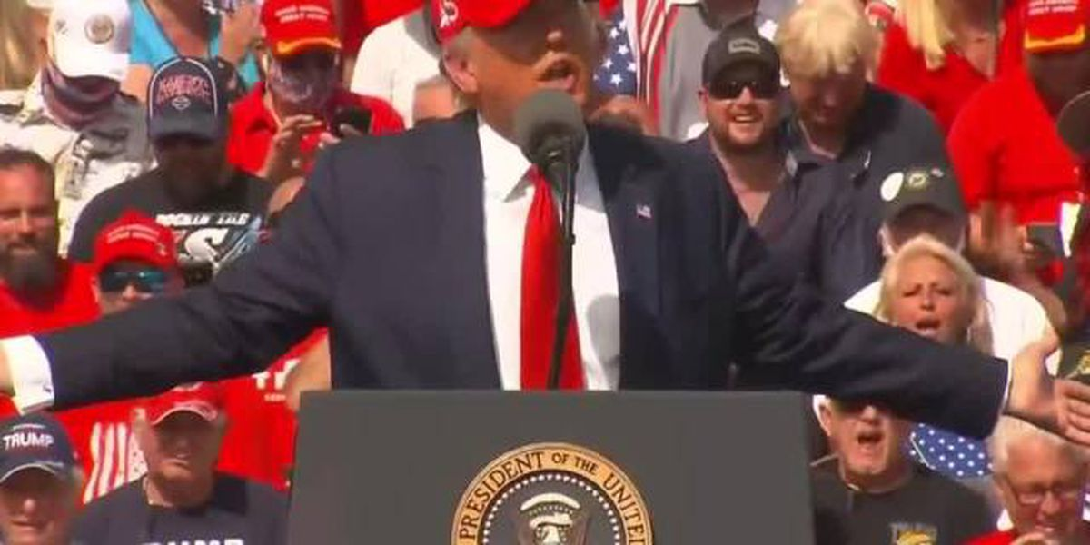 President Trump holds rally in Tampa