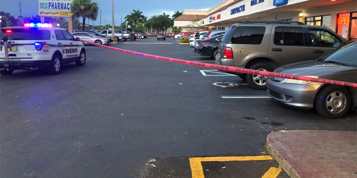 2 transported to area hospital after stabbing outside bar near West Palm Beach