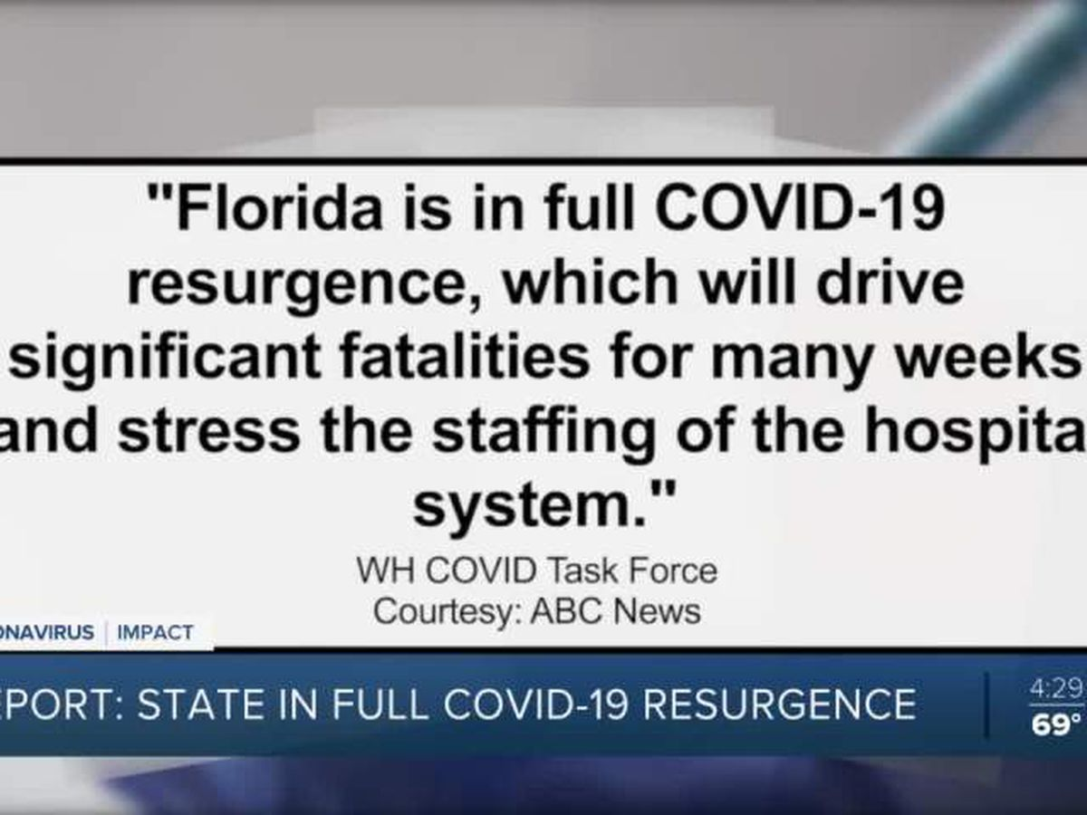 Leaders push vaccine as state enters 'COVID-19 resurgence'