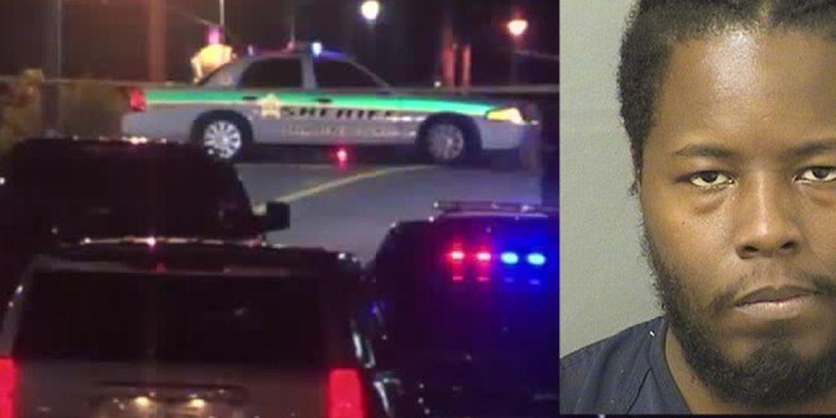 Suspect arrested after fatal shooting near Lantana