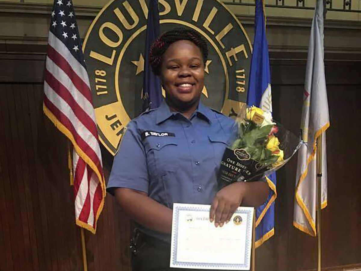 Police officers not charged for killing Breonna Taylor
