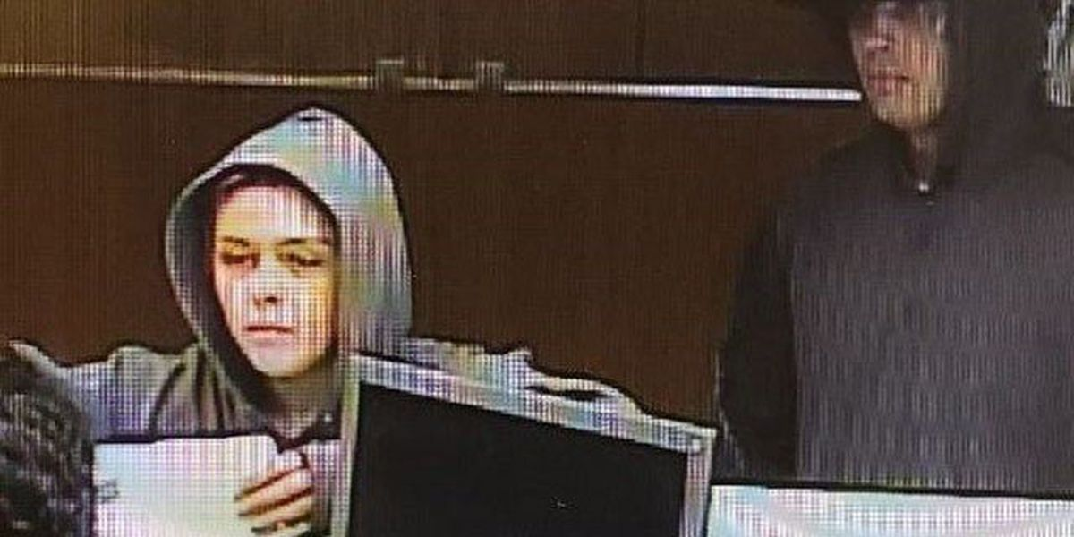2 Wellington bank robbery suspects wanted