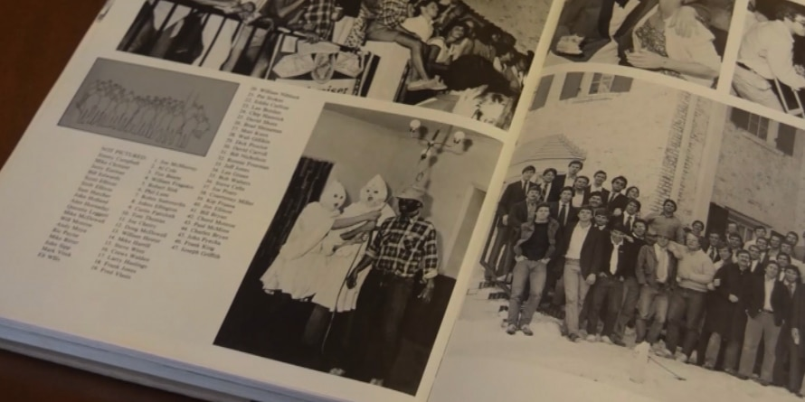 UNC officials condemn blackface, Klan photos in school yearbook