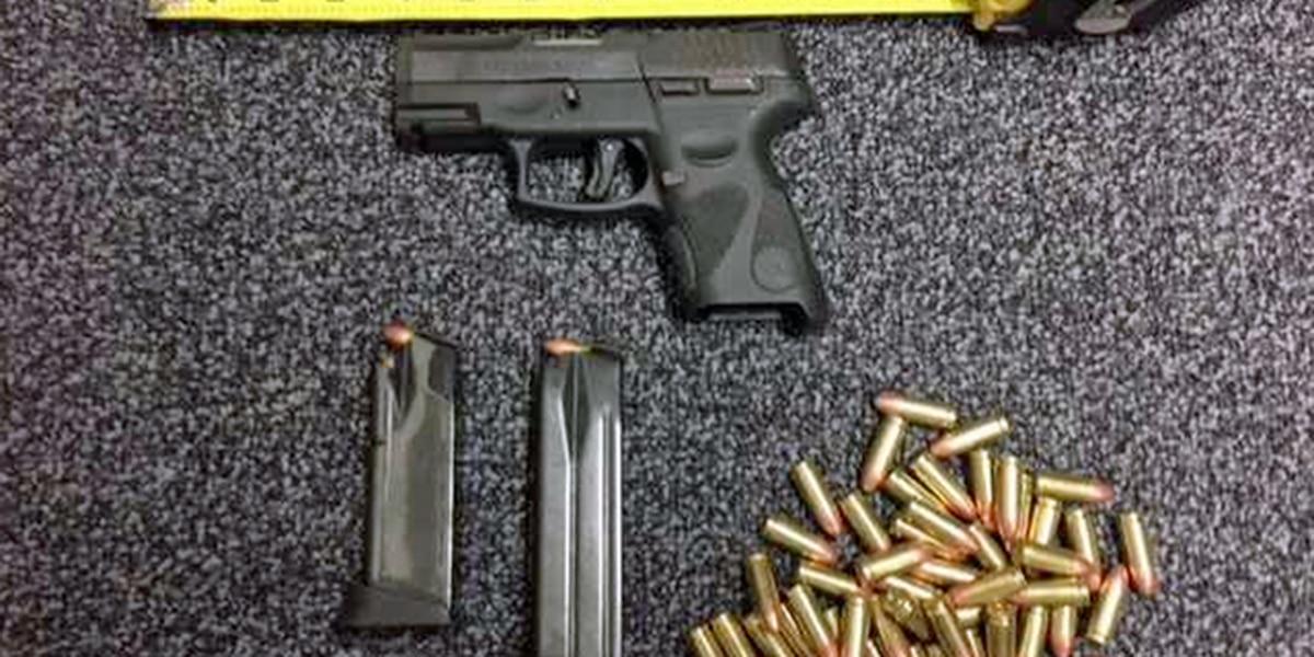 Extra school security after gun, ammo found