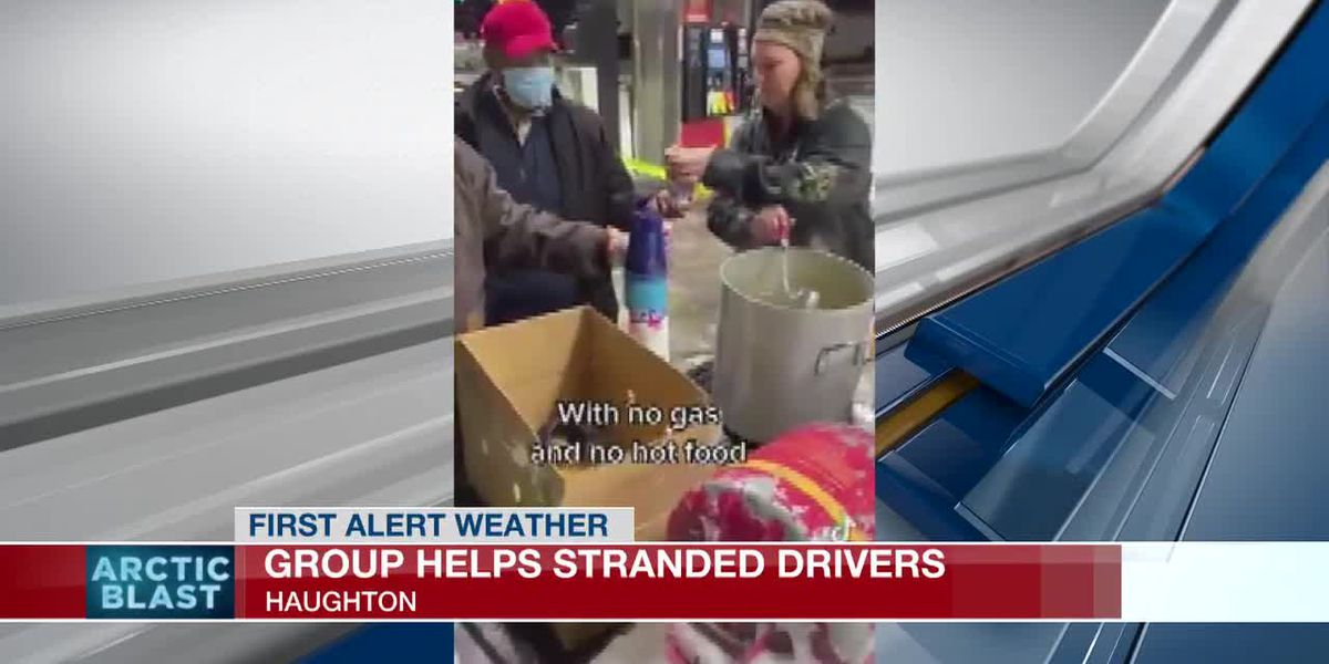 Haughton neighbors get food to stranded truckers, dozens of first responders