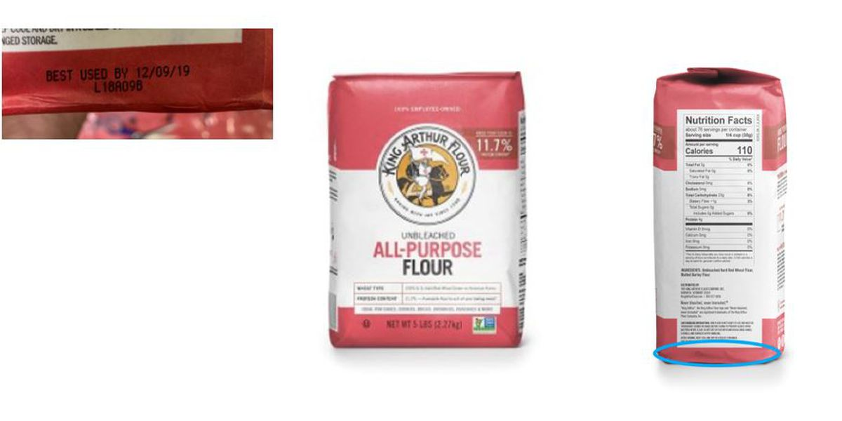 More flour recalled over potential E. coli