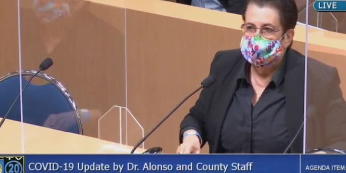 Palm Beach County health director admits to 'very big problems' with vaccine rollout